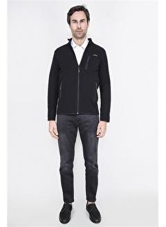 ALEXANDERGARDI Fermuarlı İnce Ceket, Siyah (E21-157806)